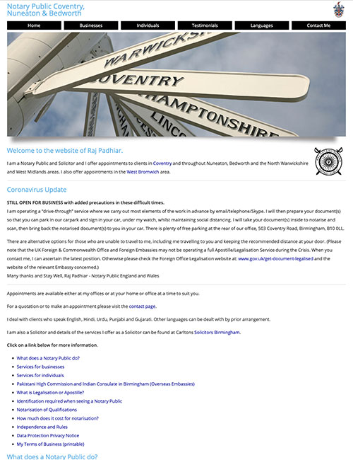 coventry notary